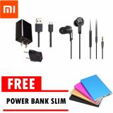 Harga Xiaoami Charger 2 A Xiaomi Piston 3 Hitam Free Power Bank Slim Original