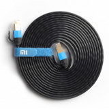 Harga Termurah Xiaomi 1000Mbps Network Lan Cat6 Ethernet Patch Cable 3 M Hitam
