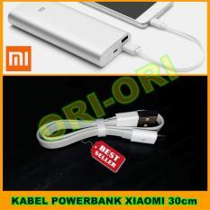 Xiaomi Acc Kabel Powerbank Xiaomi / Kabel Charger Xiaomi - Panjang 30cm
