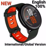 Toko Xiaomi Amazfit Smartwatch International Version With Gps And Heart Rate Sensor 100 English Model No A1612 Black Xiaomi Online
