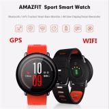 Xiaomi Amazfit Smartwatch International Version With Gps And Heart Rate Sensor 100 English Model No A1612 Red Xiaomi Diskon 40