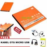 Pusat Jual Beli Xiaomi Baterai Baterry Bm44 For Xiaomi Redmi 2 Redmi 2S Redmi 2 Prime Bonus Kabel Otg Micro Usb Dki Jakarta