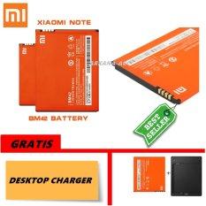 Harga Xiaomi Baterai Battery Bm42 For Xiaomi Redmi Note 3100Mah Original 100 Gratis Desktop Charger Terbaik