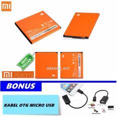 Promo Xiaomi Baterai Battery Bm44 For Xiaomi Redmi 2 2S 2200Mah Free Kabel Otg Micro Usb Murah