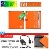 Harga Xiaomi Baterai Battery Bm44 For Xiaomi Redmi 2 2S Kapasitas 2200Mah Original 100 Gratis Desktop Charger Gratis Otg Micro Usb Xiaomi Asli