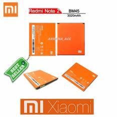 Jual Xiaomi Baterai Battery Bm45 For Xiaomi Redmi Note 2 3020Mah Original 100 Murah