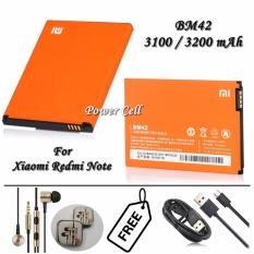 Harga Xiaomi Baterai Bm42 For Xiaomi Redmi Note Orange Gratis Xiaomi Handsfree Piston 2Nd Gen Xiaomi Kabel Data Micro Usb Dki Jakarta