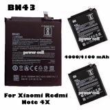 Jual Xiaomi Baterai Bn43 Original For Xiaomi Redmi Note 4X Hitam Xiaomi Acc Asli