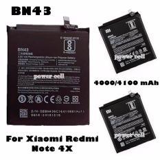 Miliki Segera Xiaomi Baterai Bn43 Original For Xiaomi Redmi Note 4X Hitam