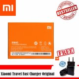 Spesifikasi Xiaomi Baterry Bm45 For Xiaomi Redmi Note 2 Original Free Xiaomi Travel Fast Charger Original