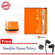 Harga Xiaomi Battery Bm41 For Xiaomi Redmi 1S Gratis Handsfree Xiaomi Piston 3 Yang Bagus