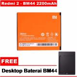 Harga Xiaomi Battery Bm44 For Xiaomi Redmi 2 Free Docking Battery Asli Xiaomi
