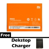 Beli Xiaomi Battery Bm45 For Redmi Note 2 Gratis Dekstop Charger Orange Seken