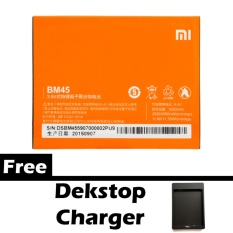 Xiaomi Battery Bm45 For Redmi Note 2 Gratis Dekstop Charger Orange Promo Beli 1 Gratis 1
