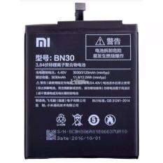 Harga Xiaomi Bn30 Original Battery For Redmi 4A Black 3030 Mah Satu Set