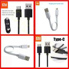 Xiaomi Cable Data Kabel Xiaomi Ori New Kabel Data Xiaomi Type C For Mi 4C / Mi 5 / Mi Pad 2 - Black  + Xiaomi Acc Kabel Powerbank Xiaomi / Kabel Charger Xiaomi - Panjang 30cm [ ori ori ]
