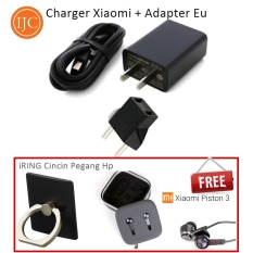 Rp 85.250. Xiaomi Travel Charger MDY-03 Original 10W 2A With Adaptor UE + FREE Hansfree Xiaomi Piston 3 Platinum + Ring Stand ...