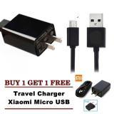 Spek Xiaomi Charger 5V 2A Micro Usb Kabel Original Buy 1 Get 1 Free Hitam Xiaomi