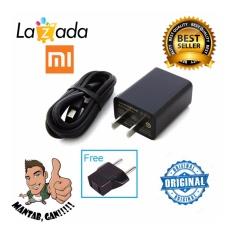Xiaomi Charger 5V / 2A Micro USB Kabel Original - Hitam