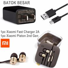 Harga Xiaomi Charger Fast 2A Orignal Include Strecker Free Xiaomi Piston 2Nd Gen Handsfree Earphone Headset Xiaomi Baru