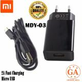 Jual Xiaomi Charger Mdy 03 Fast Charging 2A Micro Usb Original Hitam Xiaomi Branded