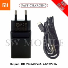 Xiaomi Charger Support Fast Charging 9V - 2A Micro USB Original - Hitam