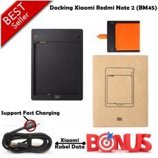 Xiaomi Dekstop / Docking Charger Xiaomi Redmi Note 2 / BM45 Original + Gratis Kabel Data