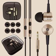 Xiaomi Earphone Big Bass Piston Mi 2nd Generation Handsfree Original - Gold