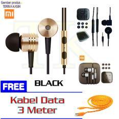 Promo Handsfree Headset Mi 2Nd Generation Gold Black Silver Free Kabel Data Tali Sepatu 3 Meter Random Akhir Tahun