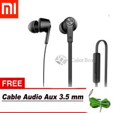 Jual Cepat Xiaomi Handsfree Piston Original 100 3Rd Youth Handsfree Xiaomi Headset Xiaomi Youth Hitam Free Kabel Audio Aux Random Colour