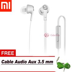 Obral Xiaomi Handsfree Piston Original 100 3Rd Youth Handsfree Xiaomi Headset Xiaomi Youth White Free Kabel Audio Aux Random Colour Murah