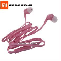Miliki Segera Xiaomi Hansfree H488 Piston Colorful Edition Headphones In Ear Xtra Bass Surround Perfect Audio Universal Gadget Pink