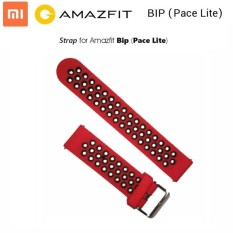 Xiaomi Huami Amazfit Bip Dual Color Smart Watch Band Replacement Hanya Strap Tidak Termasuk Jam Hitam Amazfit Diskon 40