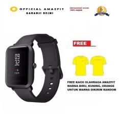 Toko Xiaomi Huami Amazfit Bip International Version Hitam Free Kaos Olahraga Amazfit Online Terpercaya