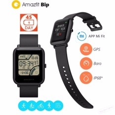 Toko Xiaomi Huami Amazfit Bip Lite Version Smart Watch International Version Black Online Banten