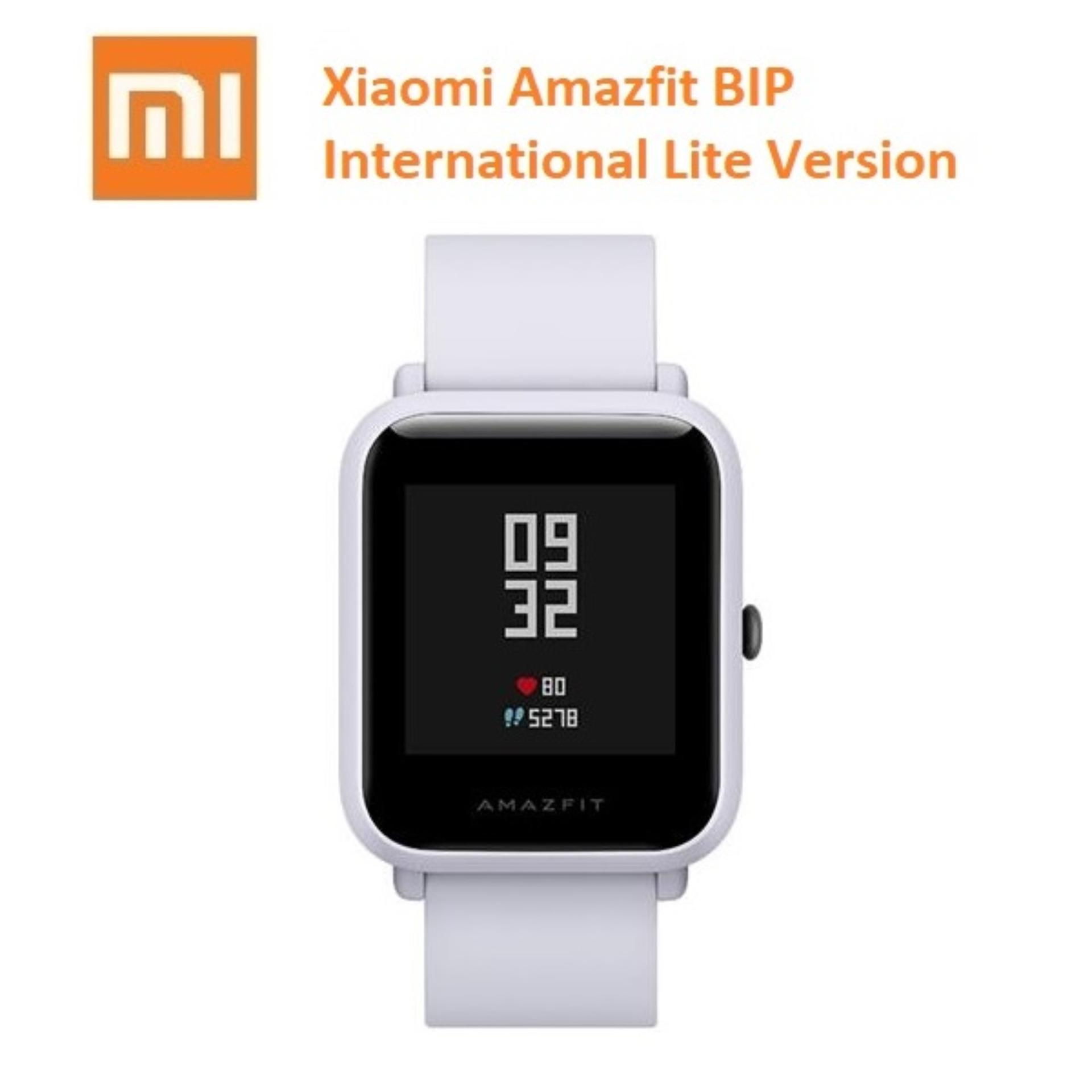Xiaomi Huami Amazfit Bip Lite Version Smart Watch Versi International Gray Asli