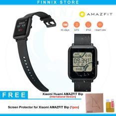 Spesifikasi Xiaomi Huami Amazfit Bip Lite Version Sports Smartwatch International Version Black Screen Protector Amazfit Bip 1 Pcs Dan Harga