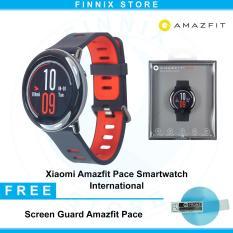 Spesifikasi Amazfit Pace Xiaomi Huami Smartwatch English Version International Black Yang Bagus