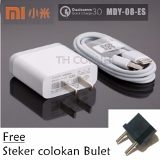 Jual Xiaomi Mdy 08 Es Quick Charging 3 Charger With Type C Cable For Mi 6 Mi 4C Mi 5 And Other Original Termurah
