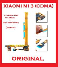 XIAOMI MI 3 CDMA FLEXIBLE CONNECTOR TC CHARGER + MIC NON IC ORI 903920