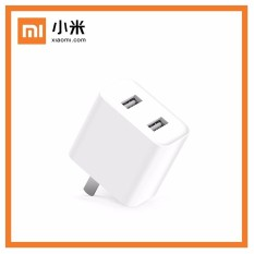 Xiaomi Mi Adapter Quick Charge 3.0 USB Charger Kepala 2 Ports