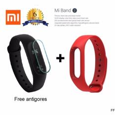 Harga Xiaomi Mi Band 2 Oled Display Free Strap Red Xiaomi Original