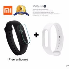 Xiaomi Mi Band 2 Oled Display Free Strap White Terbaru