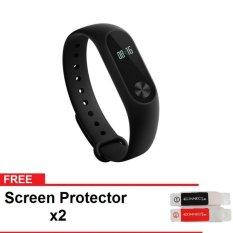 Miliki Segera Xiaomi Mi Band 2 Smart Bracelet With 42 Heart Rate Monitor Hitam Gratis 2 Screen Protector