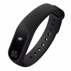 Jual Xiaomi Mi Band 2 Smart Bracelet With 42 Oled Display Touch Key Control Heart Rate Monitor Hitam Online