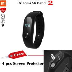 Harga Xiaomi Mi Band 2 Smart Bracelet With 42 Heart Rate Monitor Hitam Gratis 4 Screen Protector Xiaomi Baru