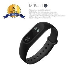 Beli Xiaomi Mi Band 2 Smart Bracelet With 42 Oled Display Touch Key Control Heart Rate Monitor Internasional Hitam Xiaomi Dengan Harga Terjangkau