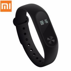 Kualitas Xiaomi Mi Band 2 Waterproof Smart Bracelet Heart Rate Monitor Wristband Black Xiaomi
