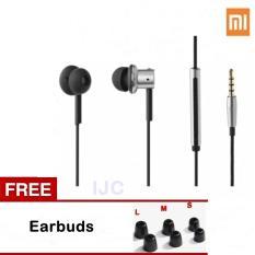 Harga Xiaomi Mi Hybrid Original Earphones In Ear Heandset Silver Yg Bagus