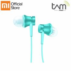 Toko Xiaomi Mi In Ear Headphones Basic Biru Lengkap Indonesia